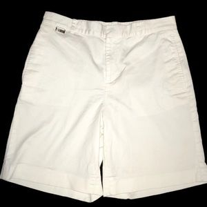 Lauren Active White Shorts